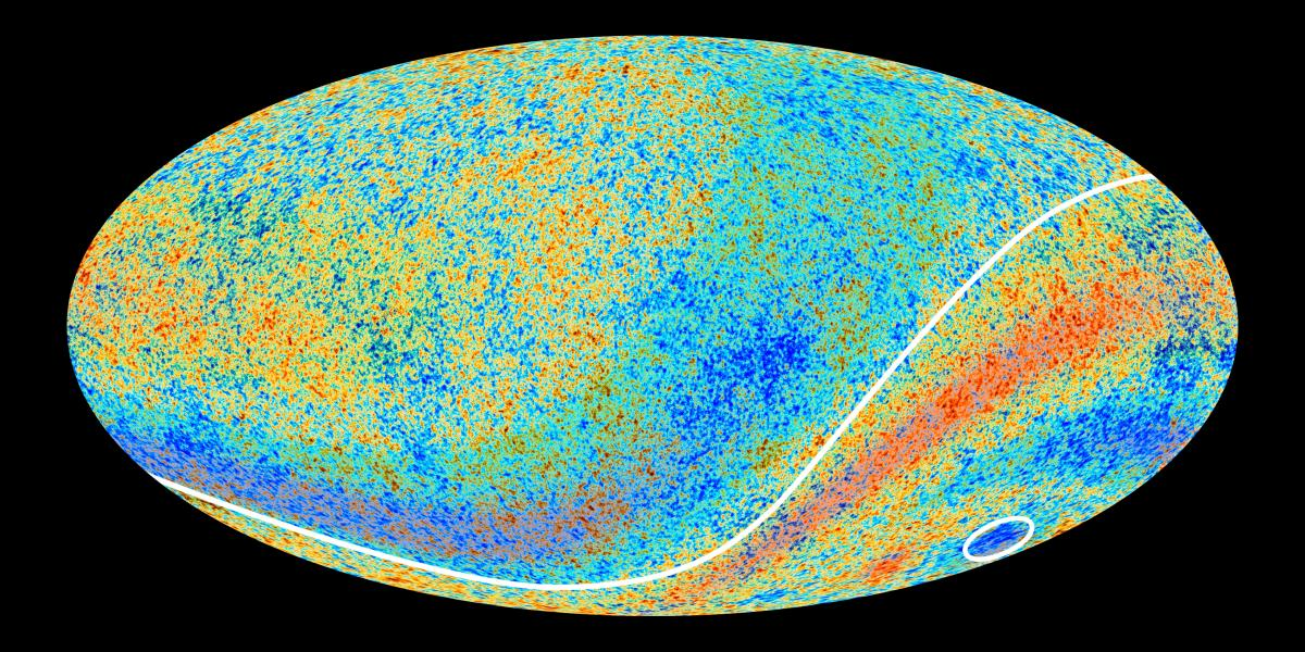 Planck Satellite Image of the CMB